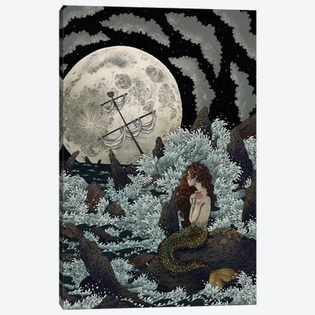 Decadence de l'ame Canvas Print #WSM5} by Wassermoth Canvas Art