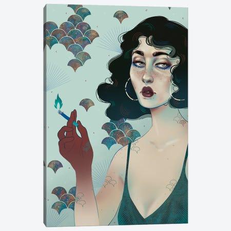 Ecaterina Canvas Print #WSM7} by Wassermoth Canvas Art