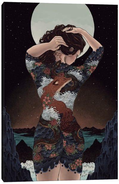 Irezumi Canvas Art Print