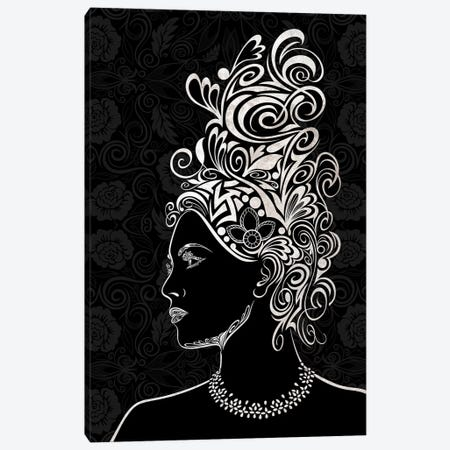 Beauty & Grace in Black & White Canvas Print #WSS1} by 5by5collective Canvas Art