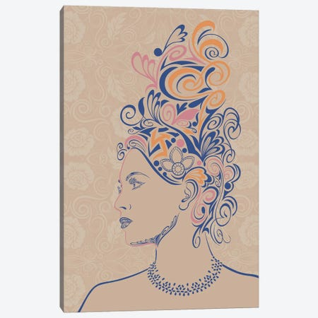 Beauty & Grace Canvas Print #WSS2} by 5by5collective Canvas Art