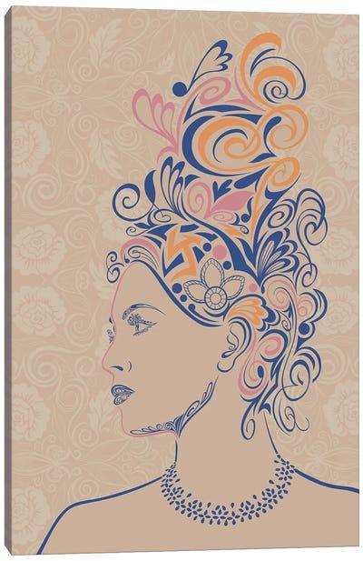 Beauty & Grace Canvas Print #WSS2