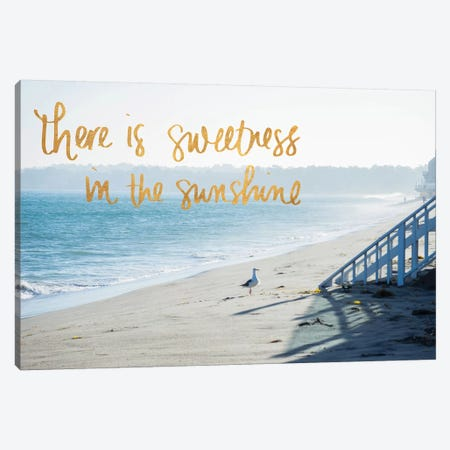 Sweetness In The Sunshine Canvas Print #WST4} by Wil Stewart Canvas Artwork