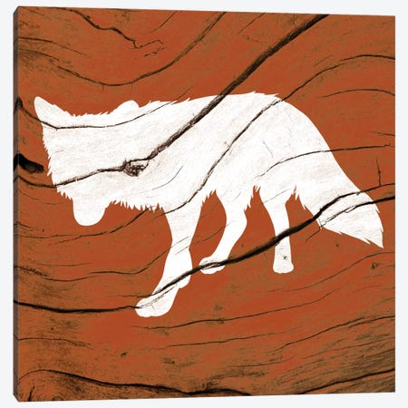 Fox Canvas Print #WWB10} by 5by5collective Canvas Wall Art