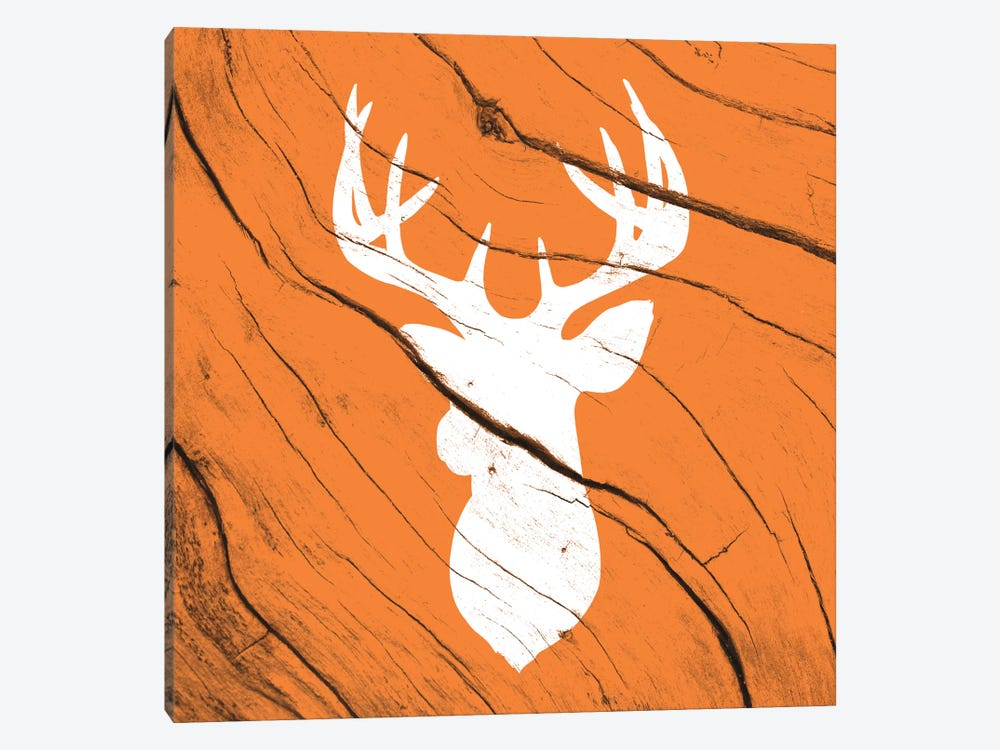 Hunting Deer by 5by5collective 1-piece Canvas Art Print