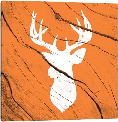 Hunting Deer Canvas Art Print