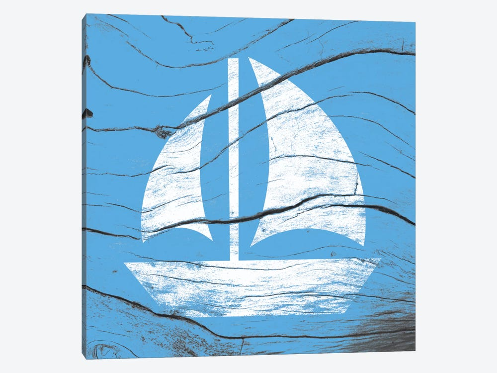 Sail Away by 5by5collective 1-piece Canvas Artwork