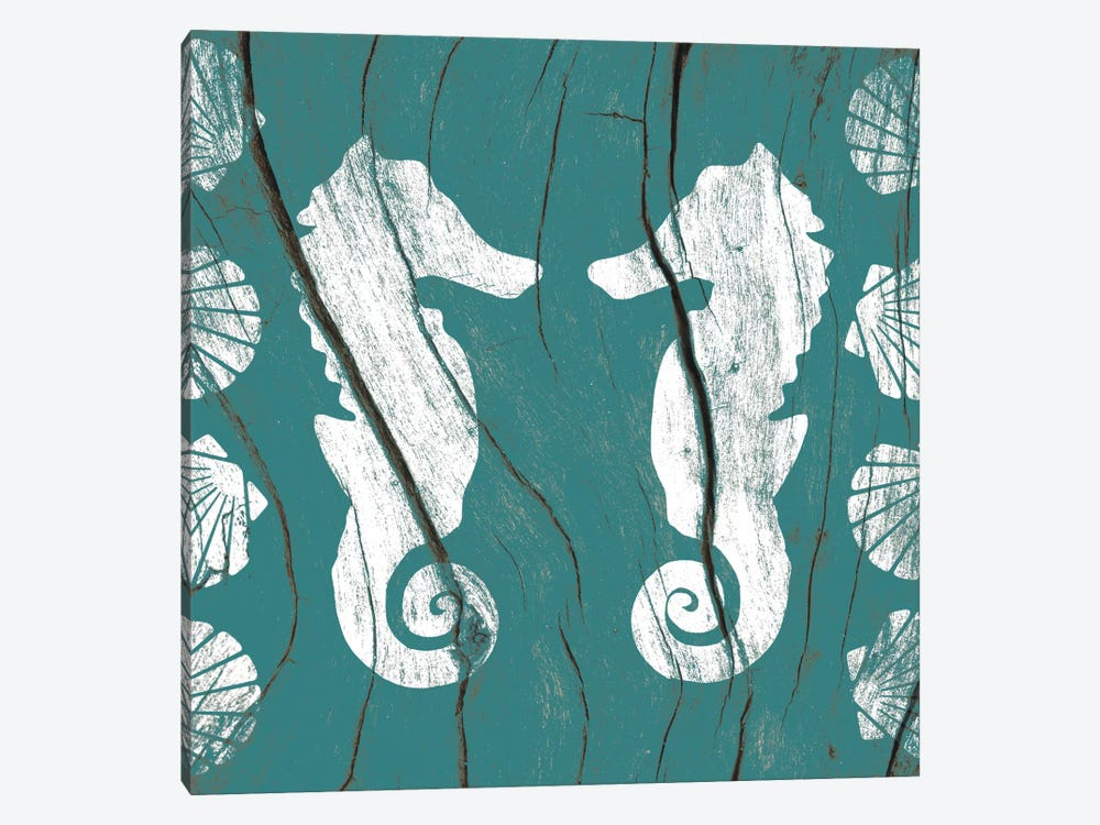 Sea Mates and Shells by 5by5collective 1-piece Canvas Print