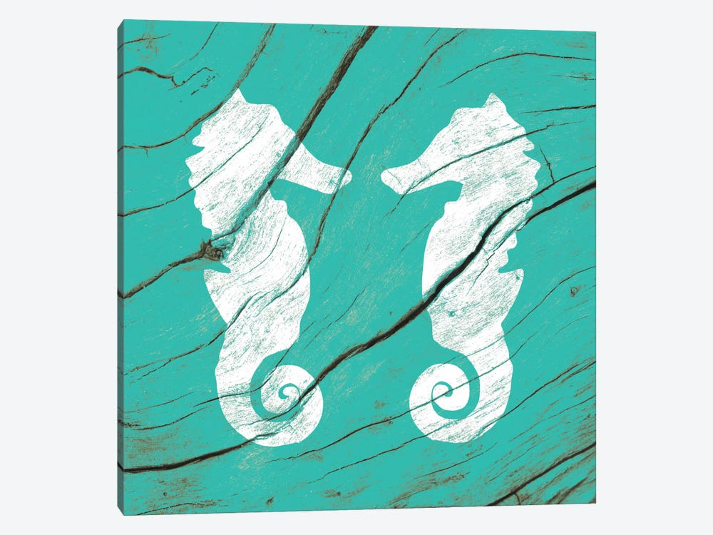 Sea Mates by 5by5collective 1-piece Canvas Wall Art