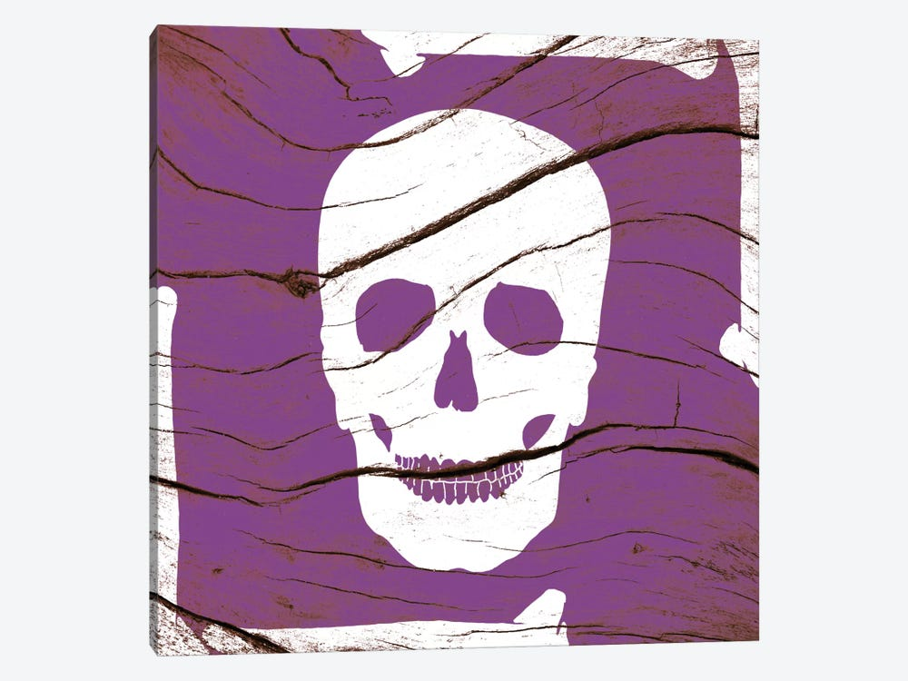 Skull and Bones by 5by5collective 1-piece Canvas Art Print
