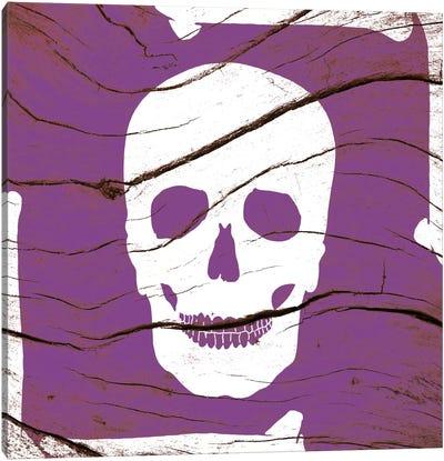Skull and Bones Canvas Art Print