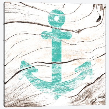 Anchor Down Canvas Print #WWB1} by 5by5collective Canvas Wall Art