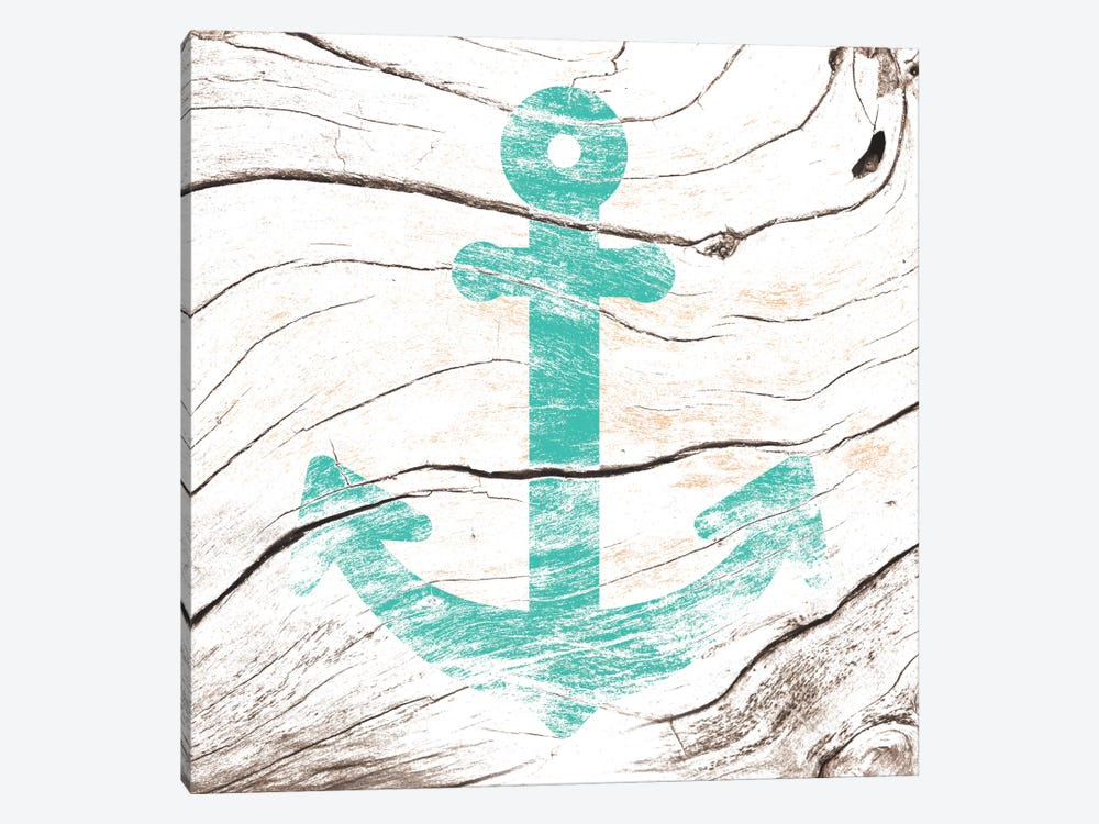 Anchor Down by 5by5collective 1-piece Canvas Wall Art