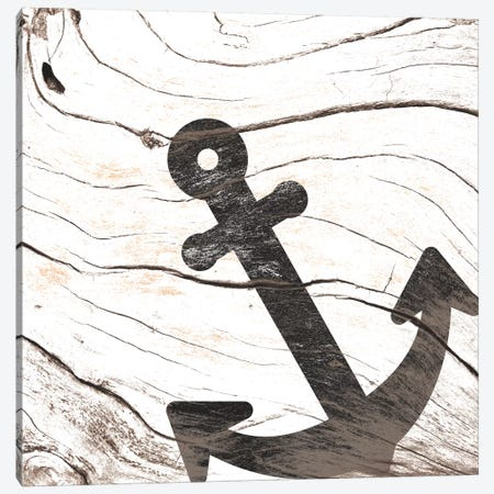 Anchor Your Mind Canvas Print #WWB20} by 5by5collective Canvas Art Print