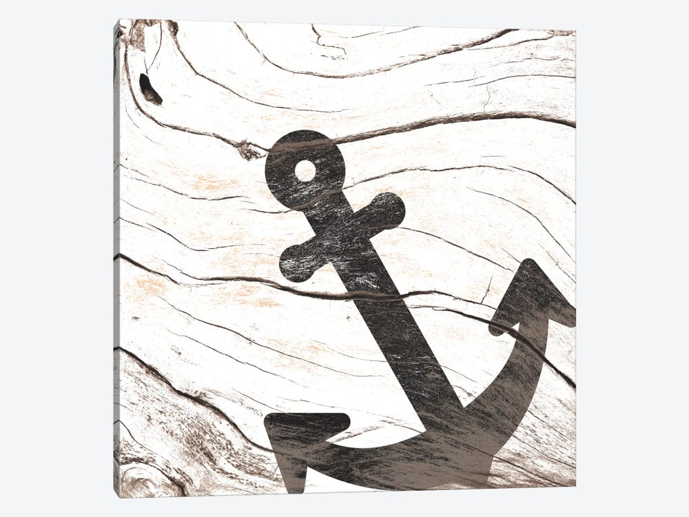 Anchor Your Mind by 5by5collective 1-piece Canvas Print