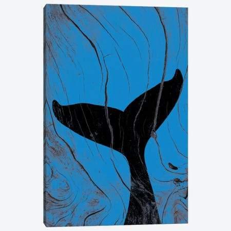 Emerging Underwater Canvas Print #WWB38} by 5by5collective Canvas Art