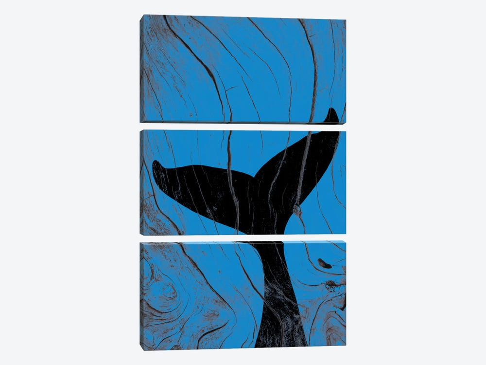 Emerging Underwater by 5by5collective 3-piece Canvas Artwork