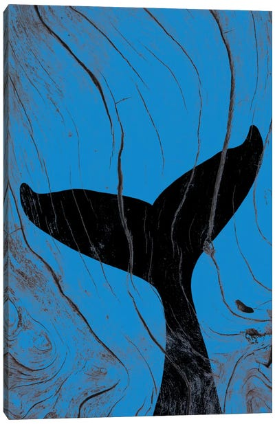 Emerging Underwater Canvas Art Print