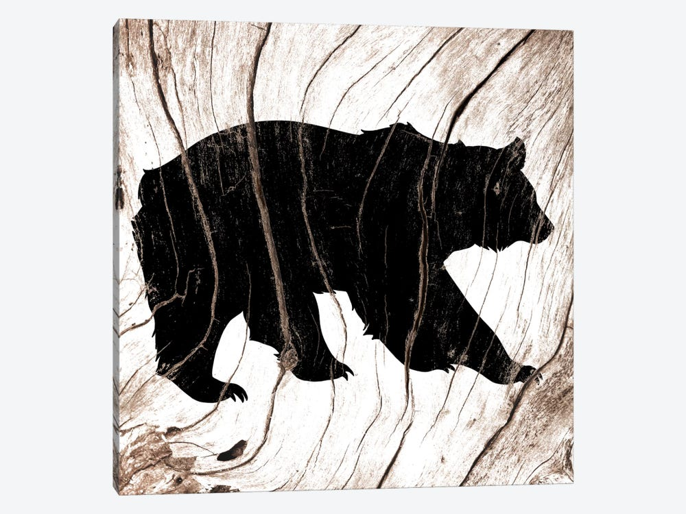 Black Bear by 5by5collective 1-piece Art Print