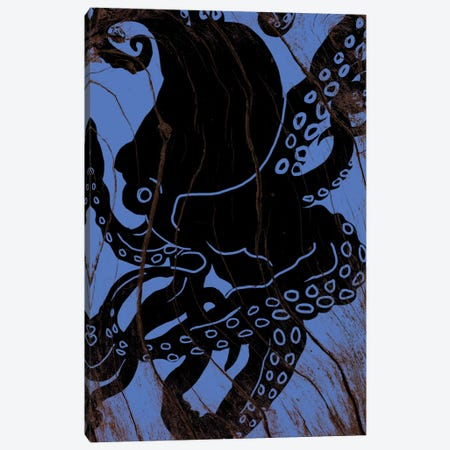 Lurking At Sea Canvas Print #WWB51} by 5by5collective Canvas Art