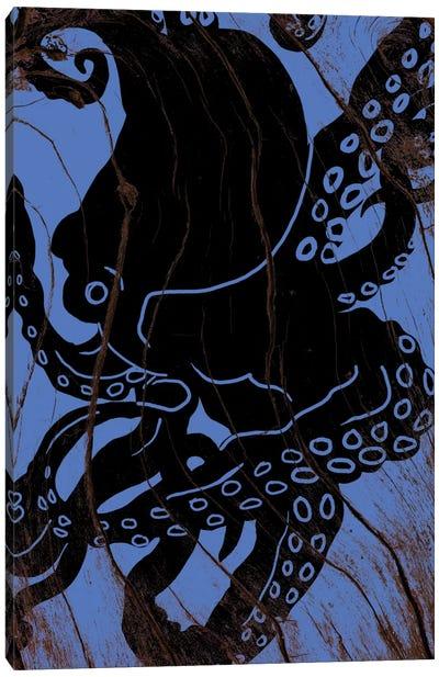 Lurking At Sea Canvas Print #WWB51