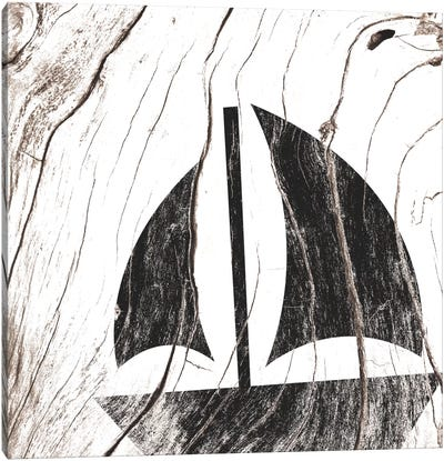 Shipwrecked Canvas Art Print