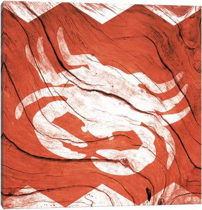 Crab Walk Canvas Print #WWB6