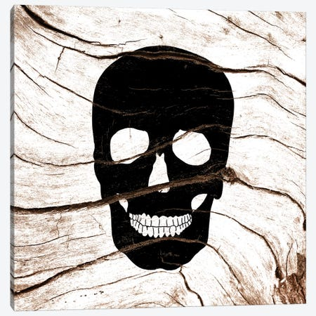 Dark Skull Canvas Print #WWB8} by 5by5collective Canvas Artwork