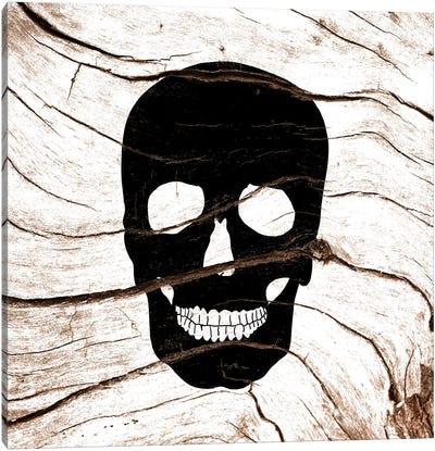 Dark Skull Canvas Art Print