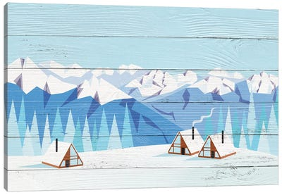 Arctic Gathering Canvas Art Print