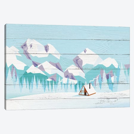 Pikes Peak Canvas Print #WWO4} by 5by5collective Canvas Wall Art