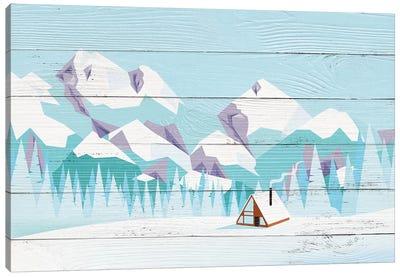 Pikes Peak Canvas Art Print