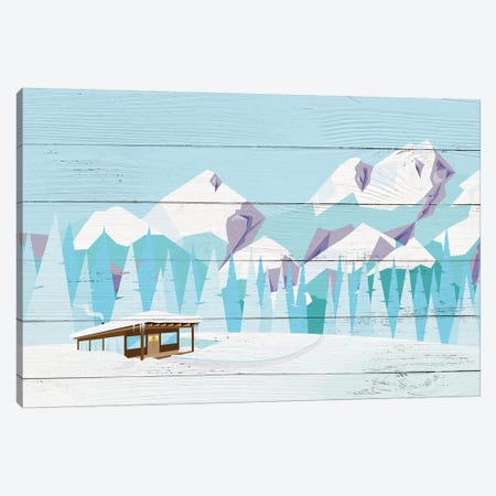 The Dapper Dugout Canvas Print #WWO5} by 5by5collective Canvas Art