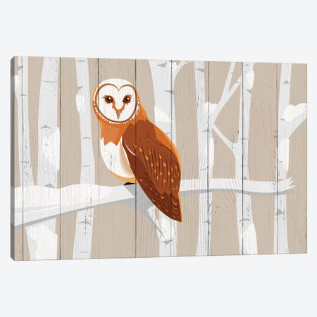 The Winged Moonlighter Canvas Print #WWO6} by 5by5collective Canvas Wall Art
