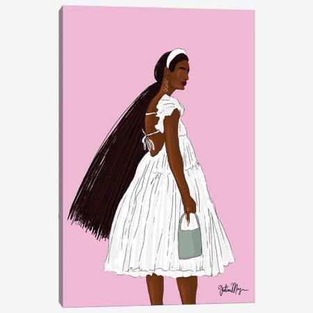 Summer Solstice Canvas Print #WWS10} by Winnie Weston Art Print