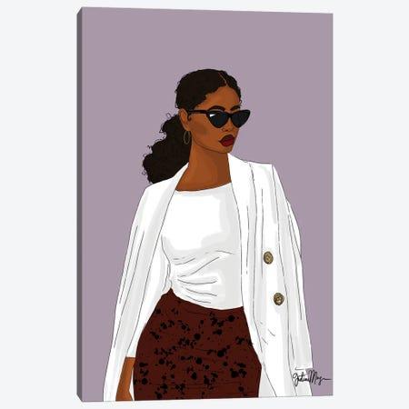 That Girl Canvas Print #WWS12} by Winnie Weston Canvas Print