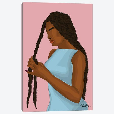 Protective Style Canvas Print #WWS15} by Winnie Weston Canvas Wall Art