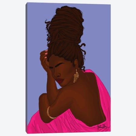 Locs Canvas Print #WWS19} by Winnie Weston Art Print