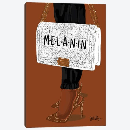 Melanin Canvas Print #WWS25} by Winnie Weston Canvas Print