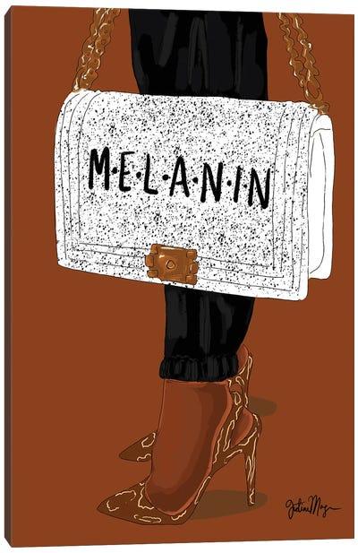 Melanin Canvas Art Print
