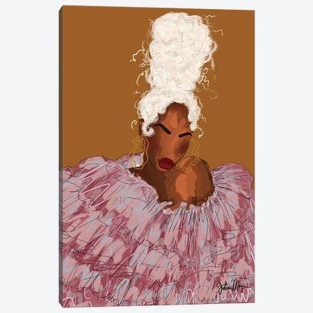Blondie Canvas Print #WWS32} by Winnie Weston Canvas Art Print