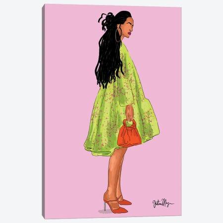 Strawberry Kiwi Canvas Print #WWS34} by Winnie Weston Canvas Wall Art