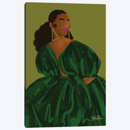 Green Canvas Print #WWS35} by Winnie Weston Canvas Artwork