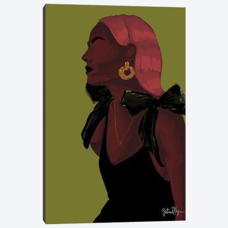 Melanin Drip Canvas Print #WWS39} by Winnie Weston Canvas Print