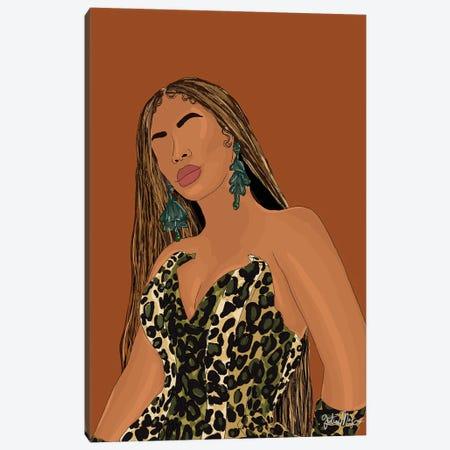 Pattern Queen Canvas Print #WWS3} by Winnie Weston Canvas Art