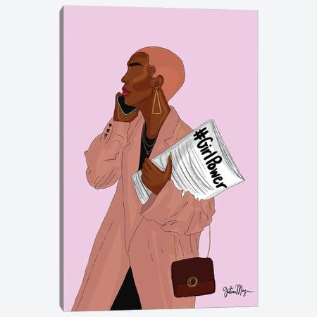 Girl Power Canvas Print #WWS49} by Winnie Weston Canvas Artwork