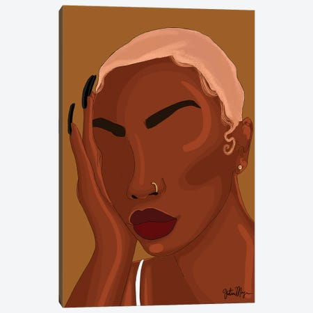 Woo Canvas Print #WWS4} by Winnie Weston Canvas Art Print