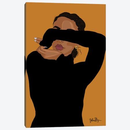 Ugh, Those Feelings Again Canvas Print #WWS53} by Winnie Weston Art Print