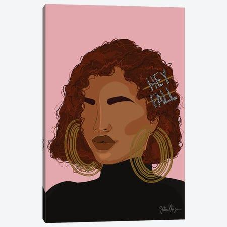 Hey Fall Canvas Print #WWS54} by Winnie Weston Canvas Art