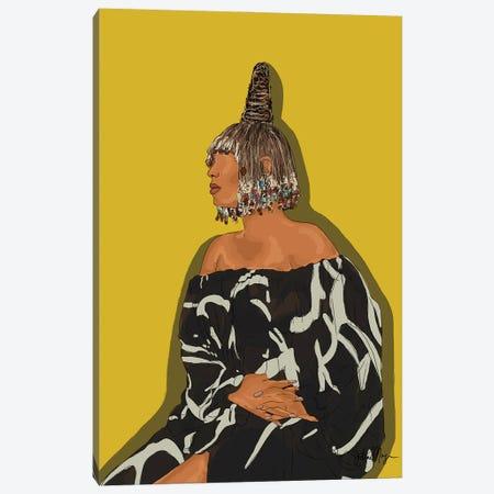 Queen Canvas Print #WWS57} by Winnie Weston Canvas Art